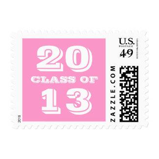 Clase blanca rosada de muy buen gusto intrépida de sellos
