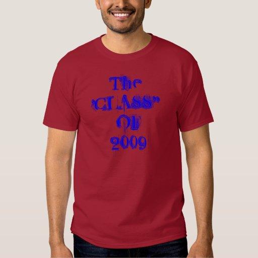 Clase con clase de la camiseta 2009 playera