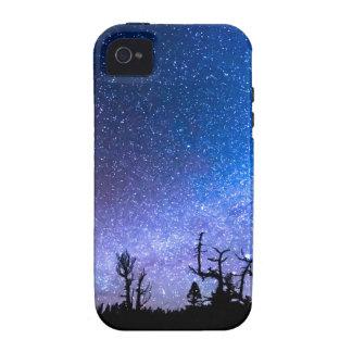 Clase cósmica de noche iPhone 4 carcasas