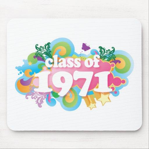 Clase de 1971 mouse pad
