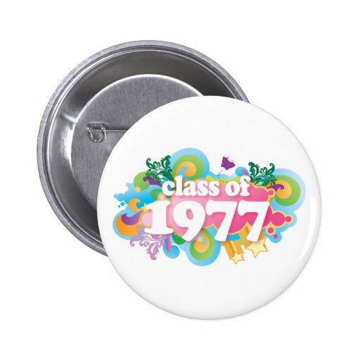Clase de 1977 pin
