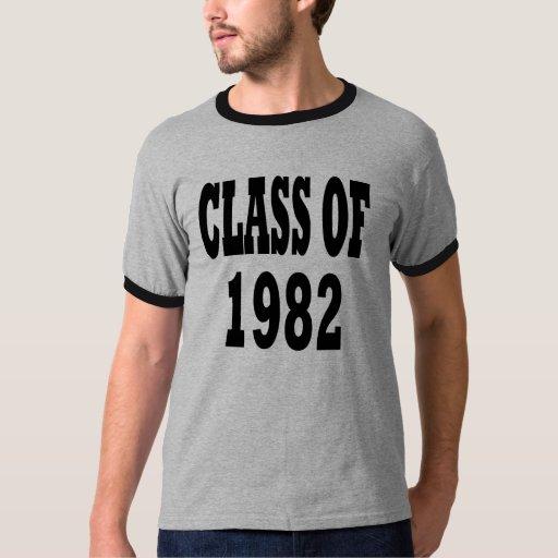 Clase de 1982 polera