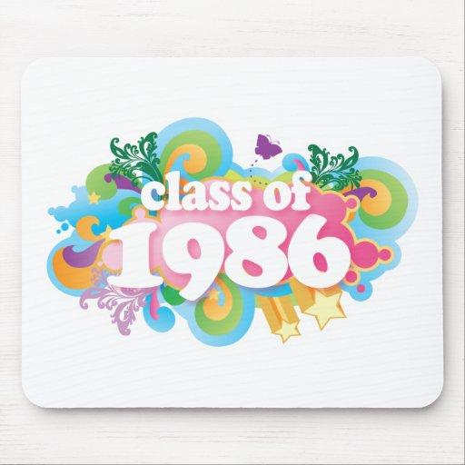 Clase de 1986 alfombrilla de ratones