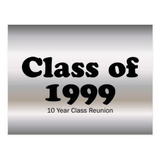 Clase de 1999 reunión de 10 años postales