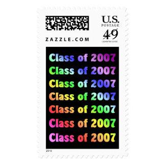 Clase de 2007 sellos