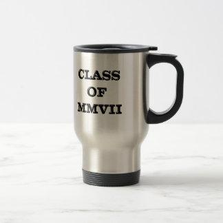 Clase de 2007 tazas de café