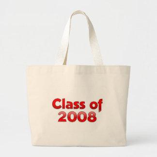 Clase de 2008 - la bolsa de asas roja