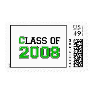 Clase de 2008 franqueo