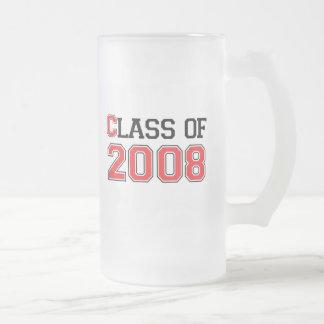 Clase de 2008 taza de café