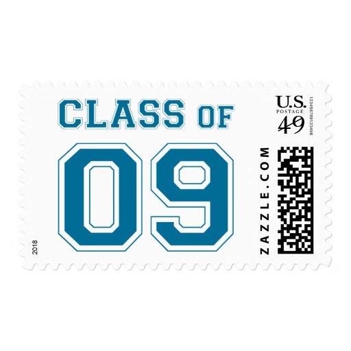 Clase de 2009 - azul envio