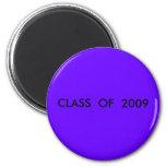 CLASE DE 2009 IMAN DE FRIGORÍFICO