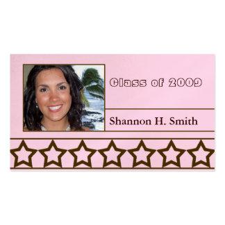 Clase de 2009 tarjetas mayores tarjeta personal