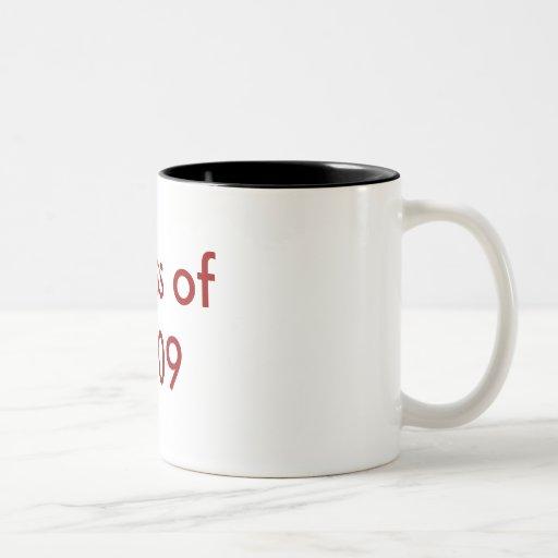 Clase de 2009 tazas de café
