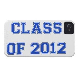 Clase de 2012 - azul Case-Mate iPhone 4 carcasa