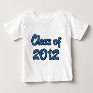 Clase de 2012 - azul remeras