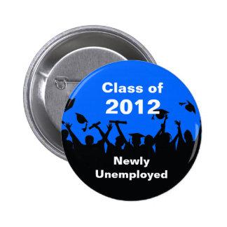 Clase de 2012 botones pin