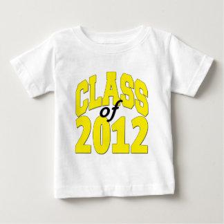 Clase de 2012 camisas