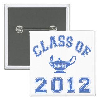 Clase de 2012 (LPN) Pin