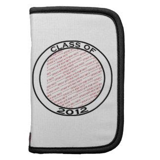 Clase de 2012 - marco negro y blanco de la foto de organizadores