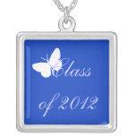 Clase de 2012 - mariposa azul pendiente