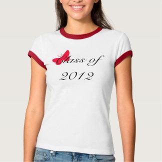Clase de 2012 - mariposa roja camisas