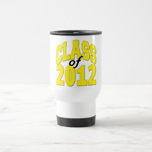 Clase de 2012 taza térmica