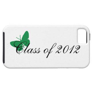 Clase de 2012 - verde iPhone 5 carcasa