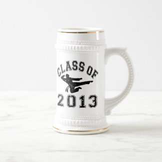 Clase de 2013 artes marciales - negro 2 tazas de café