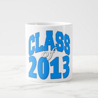 Clase de 2013 (azul 2) taza grande