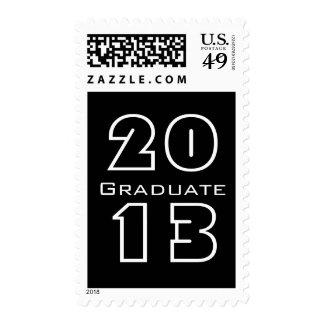 Clase de 2013 blancos y negros graduados envio
