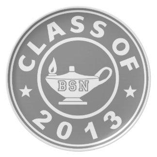 Clase de 2013 BSN Platos