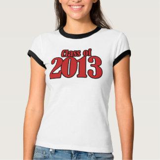 Clase de 2013 camisas