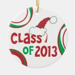 Clase de 2013 navidad w/Tassel - (unilateral) Ornamentos De Reyes Magos