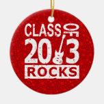 Clase de 2013 rocas adorno