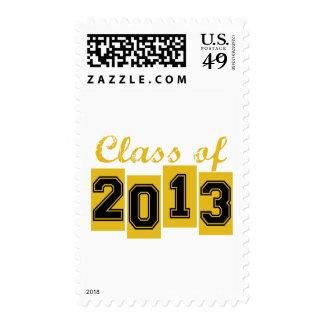 Clase de 2013 sellos
