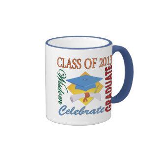 Clase de 2013 taza de dos colores