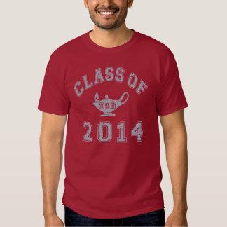 Clase de 2014 BSN - gris 2 Camisas