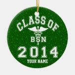 Clase de 2014 BSN Ornamento De Navidad