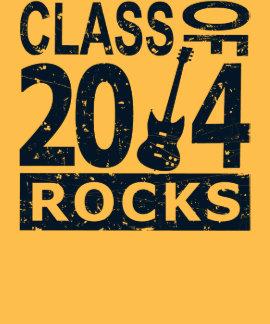 Clase de 2014 rocas camiseta