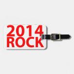 Clase de 2014 rocas Shirt.png Etiquetas Para Equipaje