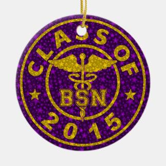 Clase de 2015 BSN Ornamento De Navidad