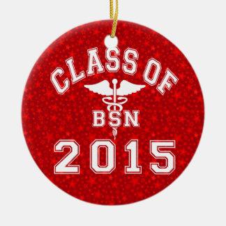 Clase de 2015 BSN Ornamentos De Navidad