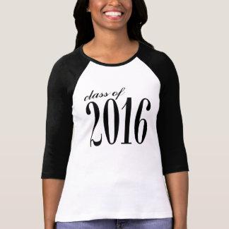 Clase de 2016 jerséis elegantes del alcohol camisas