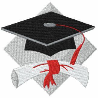 Clase de 201x con la camisa bordada diploma