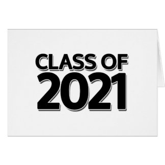 Clase de 2021 tarjeton