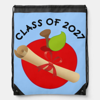 Clase de 2027 de nuevo a escuela mochila