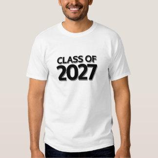 Clase de 2027 remeras