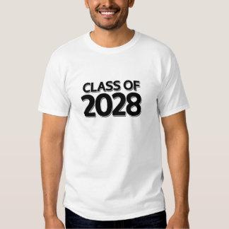 Clase de 2028 remeras