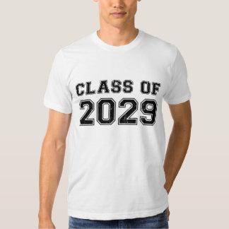 Clase de 2029 camisas