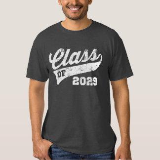 Clase de 2029 playeras